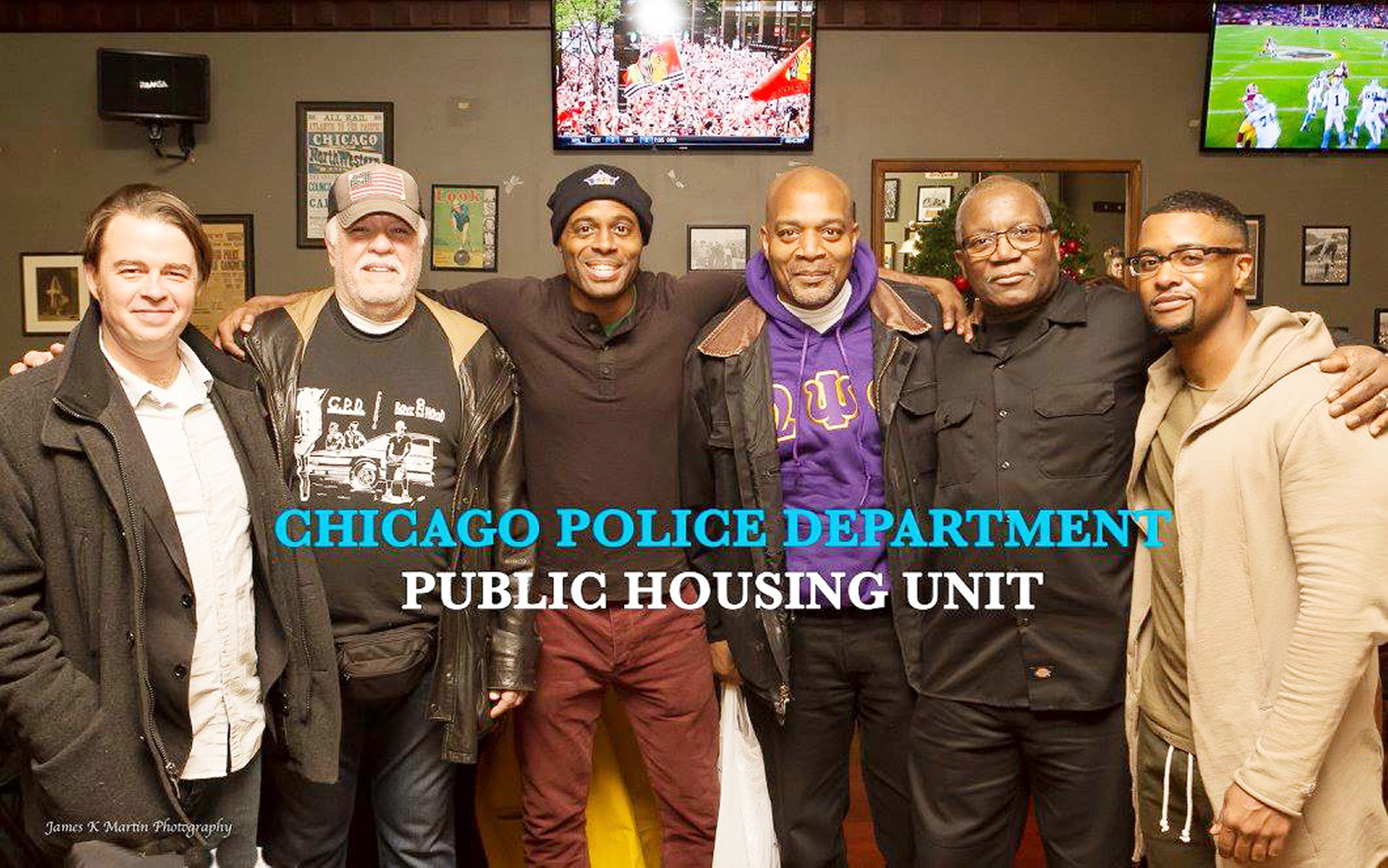 """Public Housing Unit"" lead actor Ira Amyx, Charlie Toussas, lead actor Chris Boykin, Eric Davis, Jimmy Martin, lead actor Kamal Bolden"