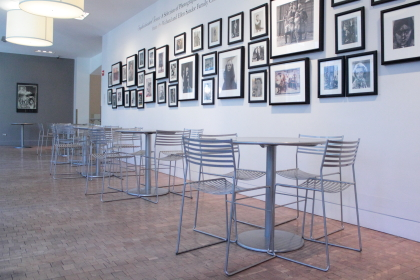 The gallery at Siskel Film Center