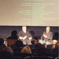 Del Toro and Pond at Wrap screening